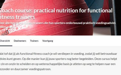 Coach course: practical nutrition for functional fitness trainers